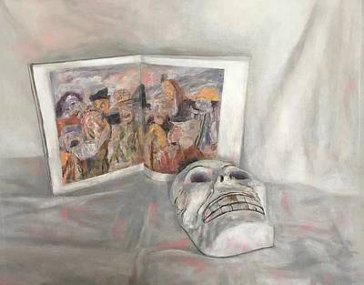 Drawing - Hommage To Ensor by Paez ANTONIO