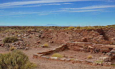 Photograph - Homo'lovi Hopi Ruins by Debby Pueschel