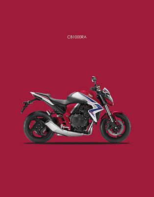 Honda Cb1000ra Art Print by Mark Rogan