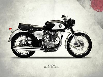 Honda Photograph - Honda Cb450 1967 by Mark Rogan