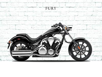 Honda Fury Art Print
