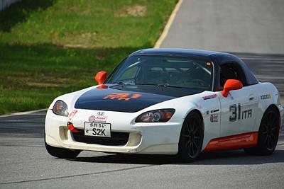 Photograph - Honda S2000 Chin Motorsports by Mike Martin