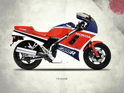 Honda Vf1000r Art Print