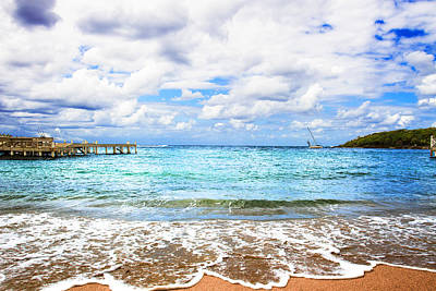 Photograph - Honduras Beach by Marlo Horne