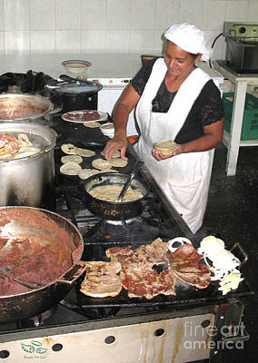 Photograph - Honduras Cooking by Beauty For God