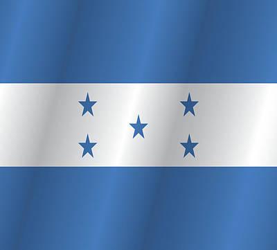 Honduras Flag Prints Fine Art America - Honduran flag