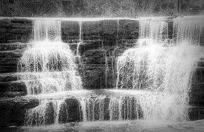 Photograph - Honeoye Falls Black And White Radiance by Aimee L Maher ALM GALLERY
