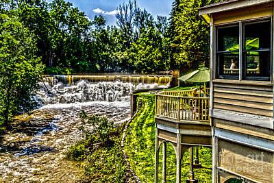 Photograph - Honeoye Falls Overlook by William Norton