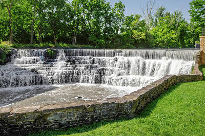 Photograph - Honeoye Falls - Upper Falls  -  Honeoyefalls172276 by Frank J Benz