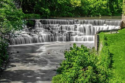 Photograph - Honeoye Falls - Upper Falls  - Ahoneoyefallsny172292 by Frank J Benz