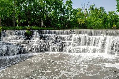 Photograph - Honeoye Falls - Upper Falls - Honeoyefalls172280 by Frank J Benz