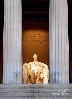 Photograph - Honest Abe by Brian Jannsen