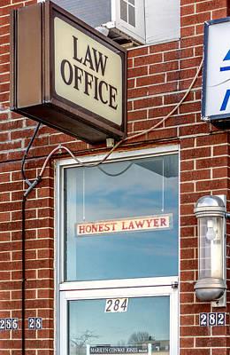 Honest Lawyer Art Print