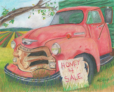 Honey 4 Sale Art Print