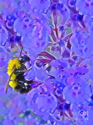 Honey Bee Original by John Malone