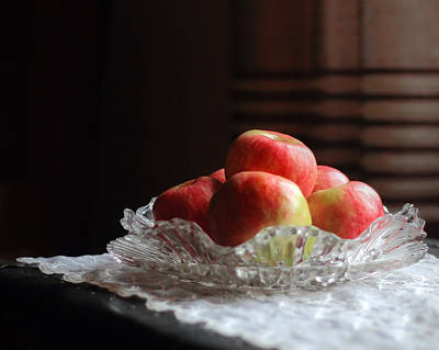 Photograph - Honey Crisp Apples by Angela Murdock
