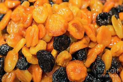 Photograph - Honey Glazed Dried Apricot And Prune Fruit Mix by Jacek Malipan