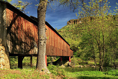 Photograph - Honey Run Covered Bridge by James Eddy