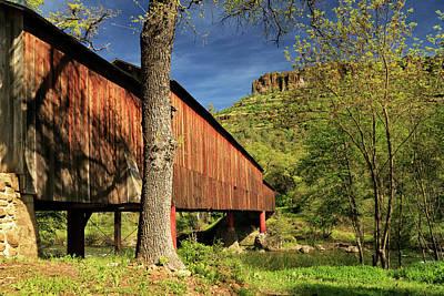 Photograph - Honey Run Covered Bridge by James Eddy
