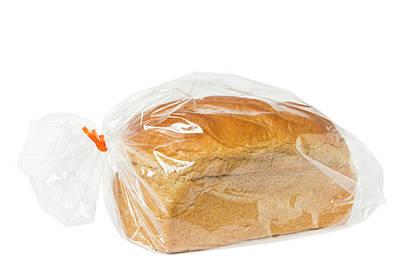 Pastry Bag Photograph - Honey Wheat Bread Loaf 1 by John Brueske
