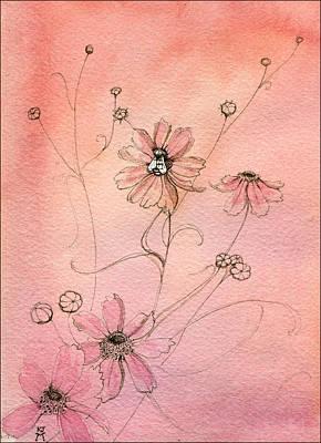 Painting - Honeybee by Katherine Miller
