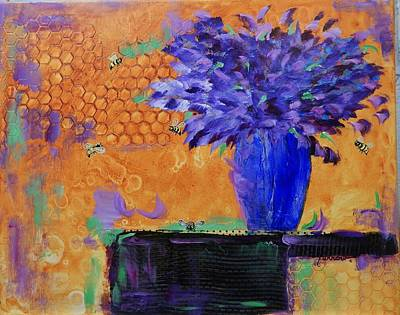 Painting - Honeycomb by Sue Furrow