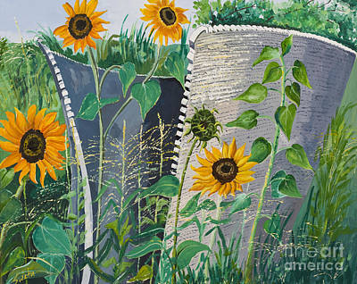 Honeycomb Art Print by Sweta Prasad