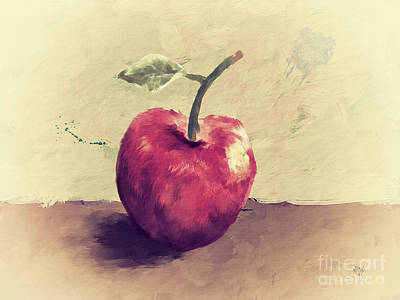 Digital Art - Honeycrisp by Lois Bryan