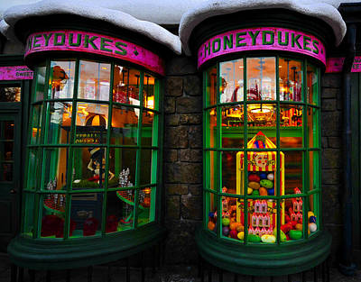Photograph - Honeydukes by David Lee Thompson