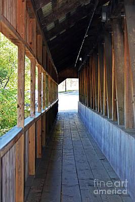 Photograph - Honeymoon Bridge Sidewalk by Patti Whitten