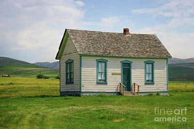 Photograph - Honeymoon  Cabin by Roxie Crouch