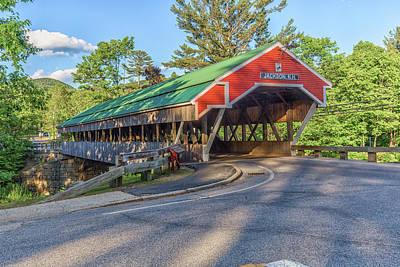 Photograph - Honeymoon Covered Bridge by Brian MacLean