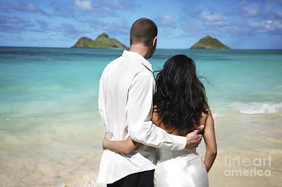 Honeymoon In Paradise Art Print