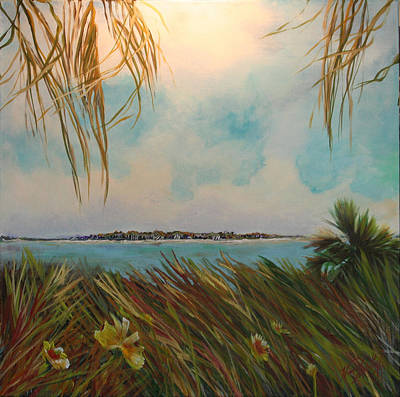 Honeymoon Island Print by Michele Hollister - for Nancy Asbell