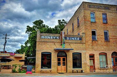 Photograph - Honey's Diner by Savannah Gibbs