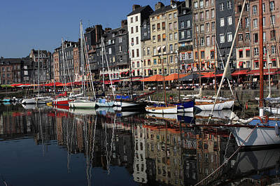 Photograph - Honfleur Harbour France by Aidan Moran