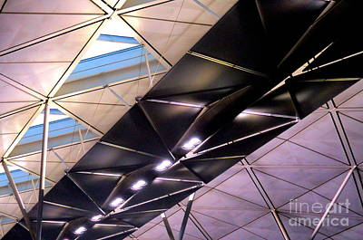 Photograph - Hong Kong Airport by Randall Weidner