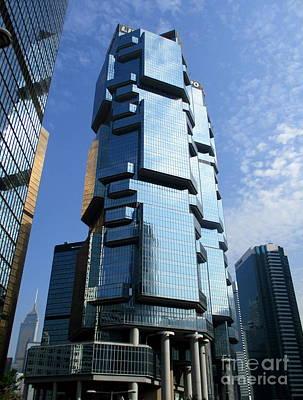 Photograph - Hong Kong Architecture 73 by Randall Weidner