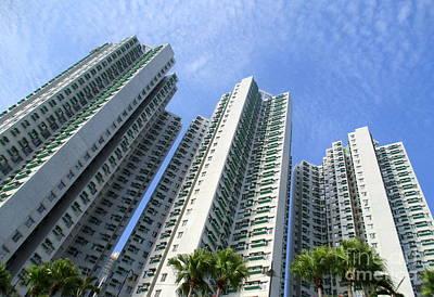 Photograph - Hong Kong Architecture 84 by Randall Weidner