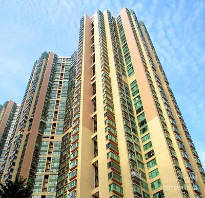 Photograph - Hong Kong Architecture 87 by Randall Weidner