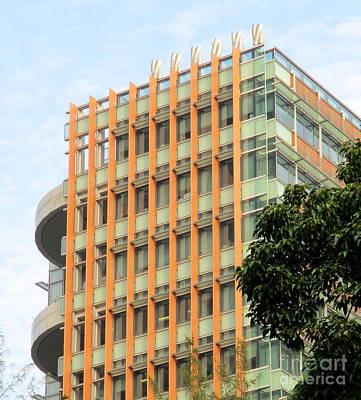 Photograph - Hong Kong Architecture 88 by Randall Weidner
