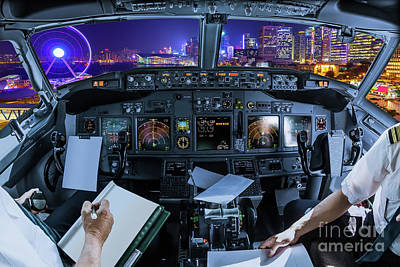 Photograph - Hong Kong Cityscape Flight by Benny Marty