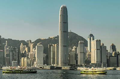 Photograph - Hong Kong - Downtown Waterfront by Mark Forte