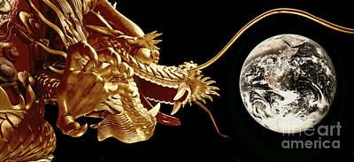 Photograph - Hong Kong Dragon  by Juergen Held