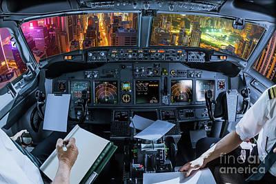 Photograph - Hong Kong Flight by Benny Marty