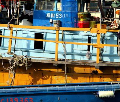 Photograph - Hong Kong Harbor 11 by Randall Weidner