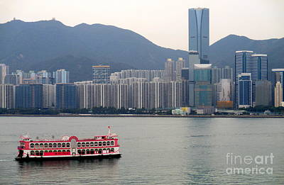 Photograph - Hong Kong Harbor 2 by Randall Weidner
