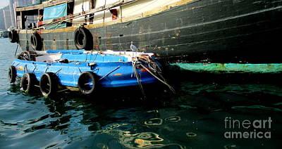 Photograph - Hong Kong Harbor 22 by Randall Weidner