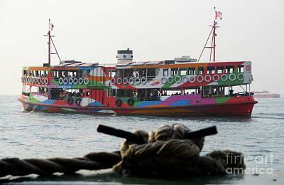 Photograph - Hong Kong Harbor 25 by Randall Weidner