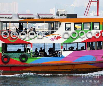 Photograph - Hong Kong Harbor 3 by Randall Weidner